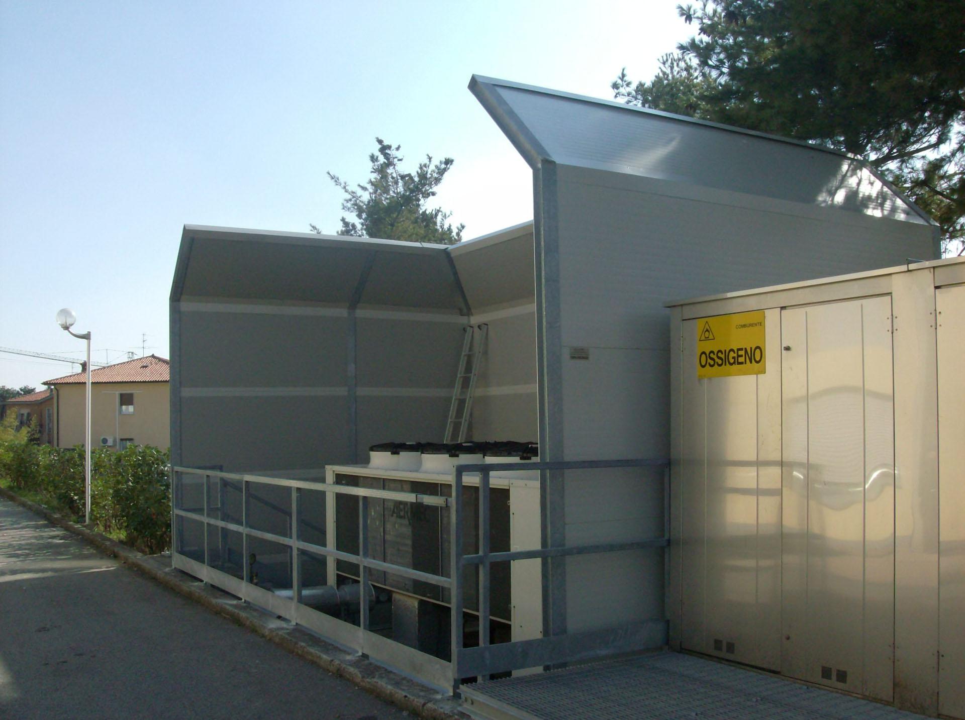 Home pigreco insonorizzazioni barriere acustiche cabine for Case mobili pigreco